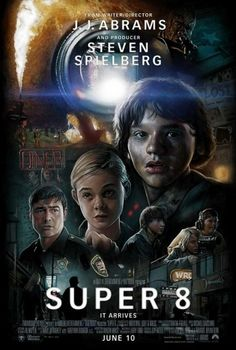 Super 8 and J.J. Abrams « These Old Colors #8 #super #abrams #jj #drew #art #poster #struzan