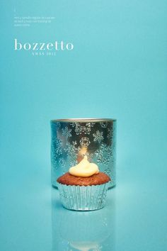 XMAS 12 by Bozzetto on Behance #cupcake #nuts