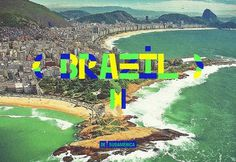 Sudamérica —Type on the Behance Network #brazil #brasil #typography