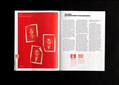 Arttu Magazine on the Behance Network #grid #layout #design #magazine