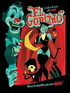 El Goblino by BrandonRagnar on deviantART #goblin #spanish #illustration #horror