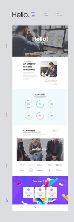 Cesis Creative Agency Free PSD Template