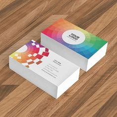 Colorful Bright Stationery #inspiration #colorful #pattern #stationery #modern #minimal #branding