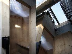 modulorbeat one man sauna designboom #sauna