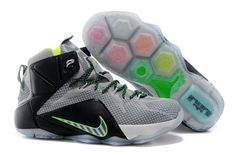 Nike Shoes Sale Zoom Lebron Xii 12 Mens Online Gray Silver New on