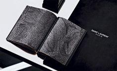 Saint Laurent, by Hedi Slimane, wins Wallpaper's 'Best Rebranding' award   Fashion   Wallpaper* Magazine: design, interiors, architecture #pattern #book #texture