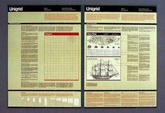 All sizes | American Graphic Design | Flickr - Photo Sharing! #massimo #vignelli #print #design #graphic #illustration #unigrid #brochure