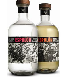 Espolon_tequila #packaging #mexico #design #graphic #illustration #tequila #typography