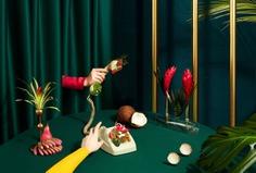 Ovnew Eatsploration - Mindsparkle Mag Tessa Dóniga Johnson directed Ovnew Eatsploration. Through the concept of chromatic eatsploration, this project explores a seven universe series of photography for Ovnew restaurant. #logo #packaging #identity #branding #design #color #photography #graphic #design #gallery #blog #project #mindsparkle #mag #beautiful #portfolio #designer