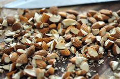 image #nuts #chopped #almonds #food #cook #brown #chop #baking