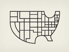 state of the state #map #geometric #usa