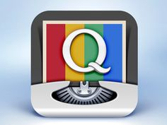 InstaQuote App Icon Design #text #dribbble #instagram #icon #ramotion #design #app #instaquote #typewriter