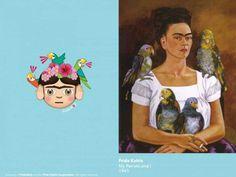Frida Kahlo's self-portraits