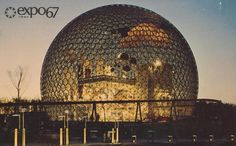 Pavilion of the United States at Expo '67 Montreal, Quebec | Flickr Photo Sharing! #expo #montreal #world #fair #biosphere #67