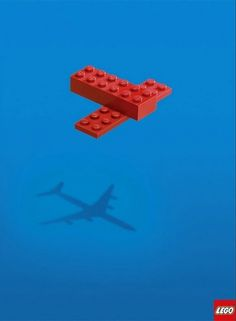 Reuben Miller : Lego Print Ad #lego #campaign #print #advertising #simple #smart #minimal #advert #imagine
