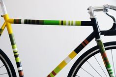 MWM Graphics | Matt W. Moore #stripes #paint #frame #bike
