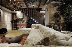 Russian Studio ALLARSTDESIGN Designed This Apartment for Designer Saranin Artemy