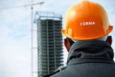 Forma by About Design #orange #branding #helmet