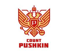 Count Pushkin by Simon™ #logo