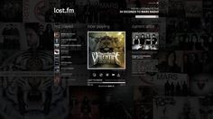 Last.fm Website Redesign on the Behance Network #radio #album #site #player #screen #full #music #web #last