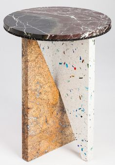 Affordances-1_YORI-110 #stone #terrazzo #furniture #marble #object #table