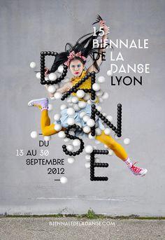 Biennale de Danse de Lyon Identité Les Graphiquants #poster