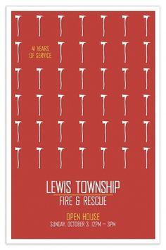 Nicholas Burroughs : LTVFD #promotional #design #poster