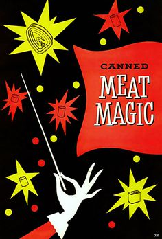 ... magical meat in a can! | Flickr Photo Sharing! #illustration #meat #magic
