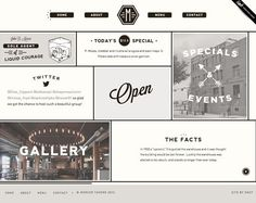 21 Clean Web Design Layouts #website #web