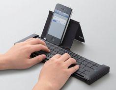 Pocket Keyboard by Elecom #minimalist #design #minimal #keyboard