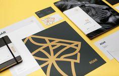 Roar Groupe | Mast #stationery #print #envelope #folder #letterhead #business #card