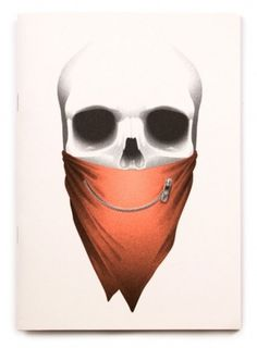 Big Mouth Project « Jonathan Zawada #bandana #jonathan #skull #drawing #mouth #zawada