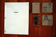 NOTES - Jenny Censky #print #branding