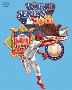 World Series - Chris Creamer's Sports Logos Page - SportsLogos.Net #baseball #1981 #vintage