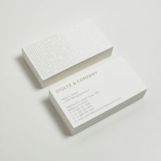 design work life » cataloging inspiration daily #business card #modern #white #clean #gold #collateral