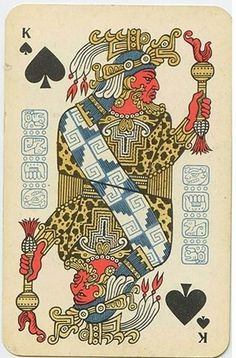 FFFFOUND! | English Russia » The Soviet Mayan Playing Cards #card #playing