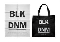 Triboro: BLK DNM — Collate #poster #bag #branding #triboro