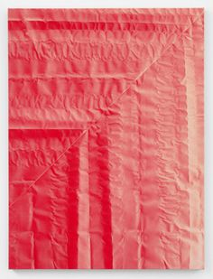 Tauba Auerbach | PICDIT #red #design #graphic #painting #art #colour