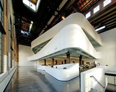 Cannon Design industrial office conversion // Tenniswood Blog #cannon