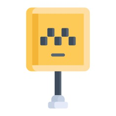 See more icon inspiration related to architecture and city, traffic sign, cab, road sign, architecture, signaling, taxi, public transport, car, sign and transport on Flaticon.