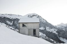 Haus Fontanella–Bernardo Bader Architects #wood #photography #architecture #forest #mountains