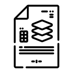 See more icon inspiration related to document, layer, file, files and folders, edit tools, graphic tool, graphics editor, graphic design, illustration, archive, interface and layers on Flaticon.