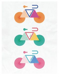 S & S Shop by Script and Seal — Different Spokes for Different Folks #cute #illustration #spokes #bike