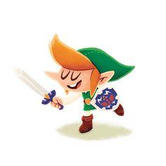 Videogame Heroes on Behance #character design #illustrations #link #legend of zelda