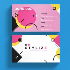 Modern business card template Premium Psd. See more inspiration related to Logo, Business card, Business, Abstract, Card, Template, Geometric, Office, Visiting card, Shapes, Presentation, Colorful, Stationery, Elegant, Corporate, Company, Abstract logo, Modern, Corporate identity, Branding, Visit card, Geometric shapes, Identity, Brand, Identity card, Business logo, Company logo, Logo template, Abstract shapes, Elegant logo, Brand identity, Visit and Visiting on Freepik.