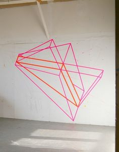 (via Design For Mankind Part 6) #line #geometry #installation #contemporary #illustration #art #drawing