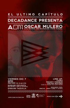 Decadance / Nov-Dic 2012 #logotype #branding #cover #identity #music #logo #booklet #typography