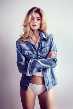 Doutzen Kroes by Will Davidson #model #girl #photography #portrait #fashion