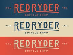 Redryder 1 #simple #fun #graphic #clean