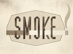 Smokedribble #logo #typography